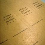 Fragile Pocket Calendar 2013