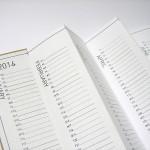 Fragile Pocket Calendar 2014